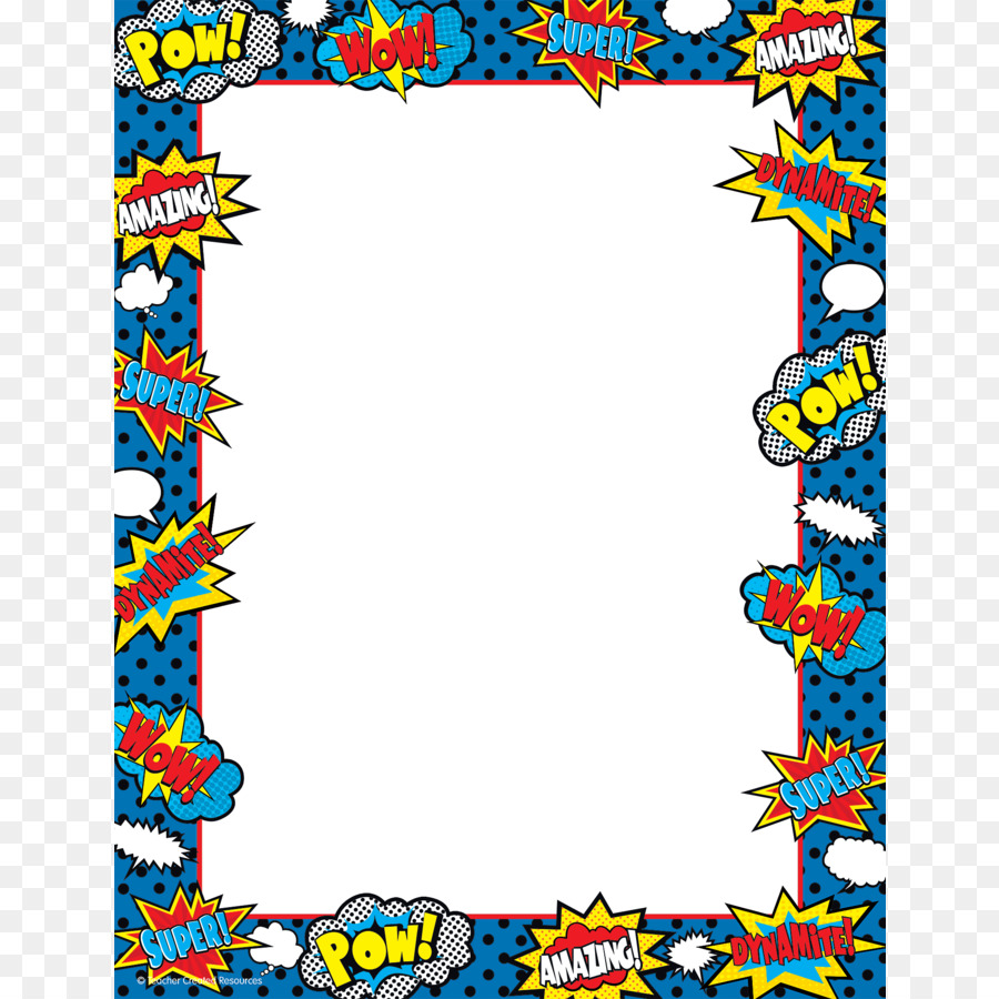 Superhero frame clipart graphic black and white library Picture Frame Frame clipart - Superhero, transparent clip art graphic black and white library