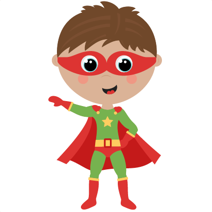 Superhero kid clipart png transparent Boy Superhero cute cut files SVG cutting files for ... png transparent