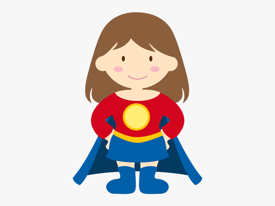 Superhero kid clipart svg stock Kid Super Heroes Clip Art - Clipart Children Superhero ... svg stock