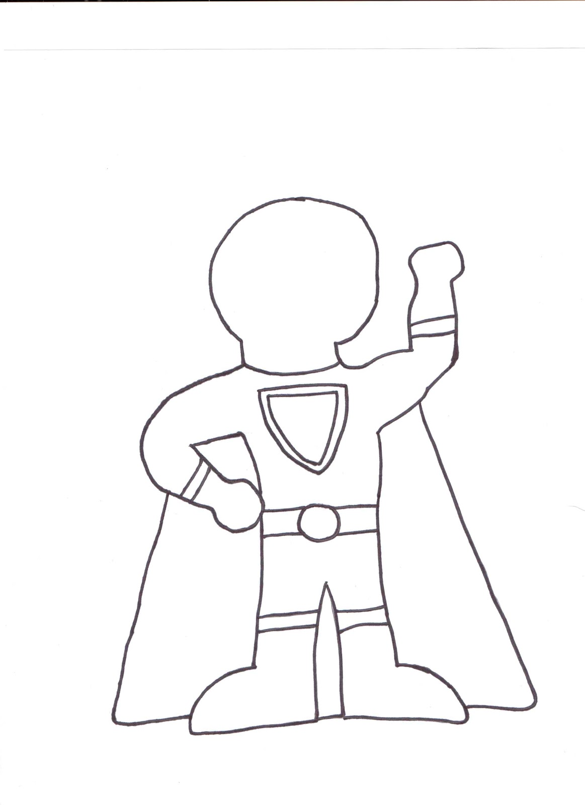 Superhero outline clipart svg library Superhero black and white superhero clipart black and white ... svg library