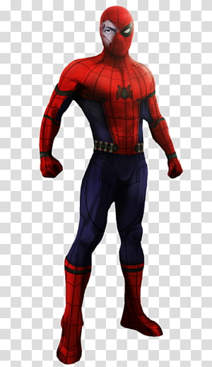 Superhero ripping of tuxido clipart picture transparent library MCU Spiderman Black Suit Render transparent background PNG ... picture transparent library