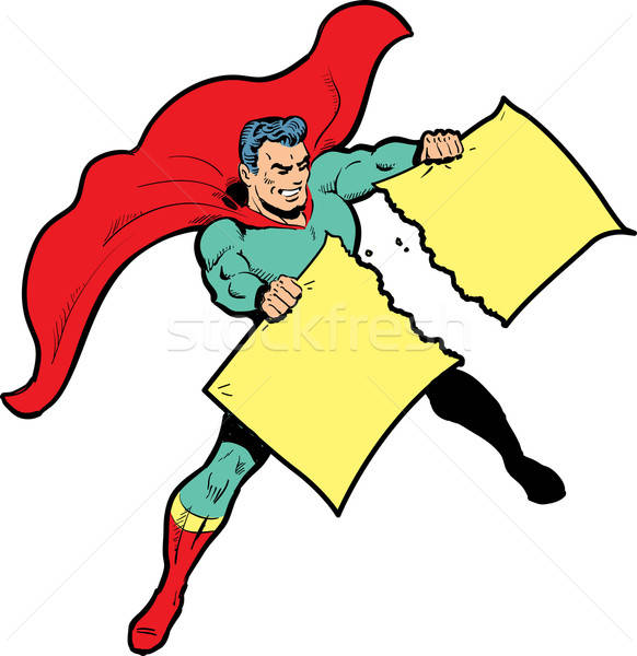 Superhero ripping of tuxido clipart clipart freeuse download Ripping Stock Photos, Stock Images and Vectors | Stockfresh clipart freeuse download