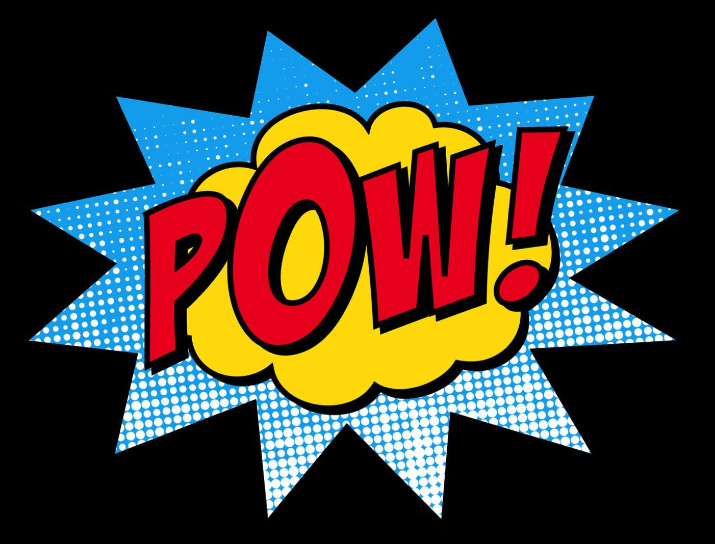 Superhero sounds clipart svg royalty free Superhero sound effect words clipart - Clip Art Library svg royalty free