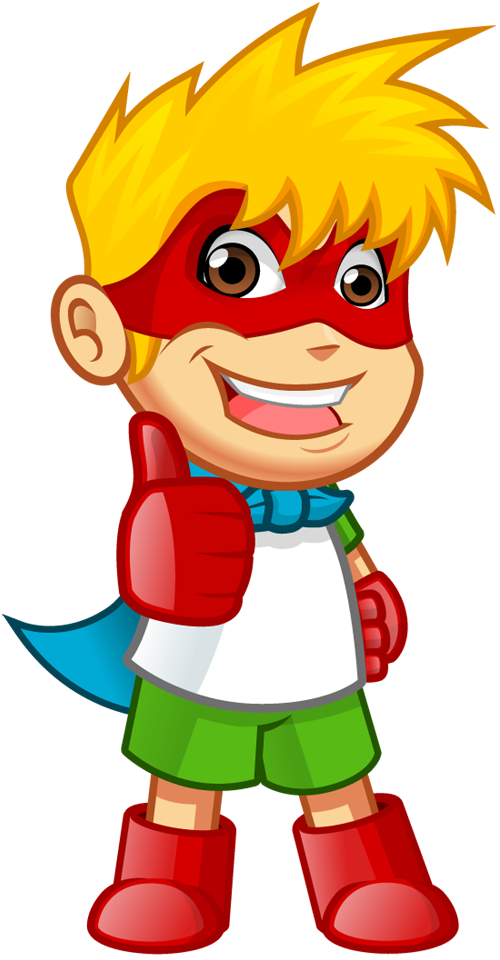 Boy with thumbs up clipart vector royalty free Superhero thumbs up clipart - ClipartFest vector royalty free