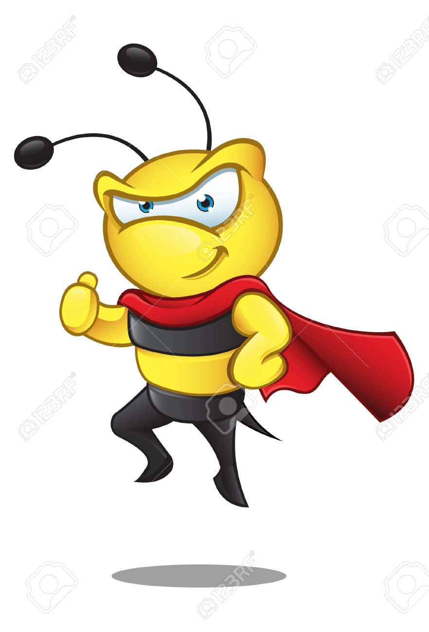 Superhero thumbs up clipart graphic stock A Illustration Of A Super Hero Bee Giving A Thumbs Up Royalty Free ... graphic stock