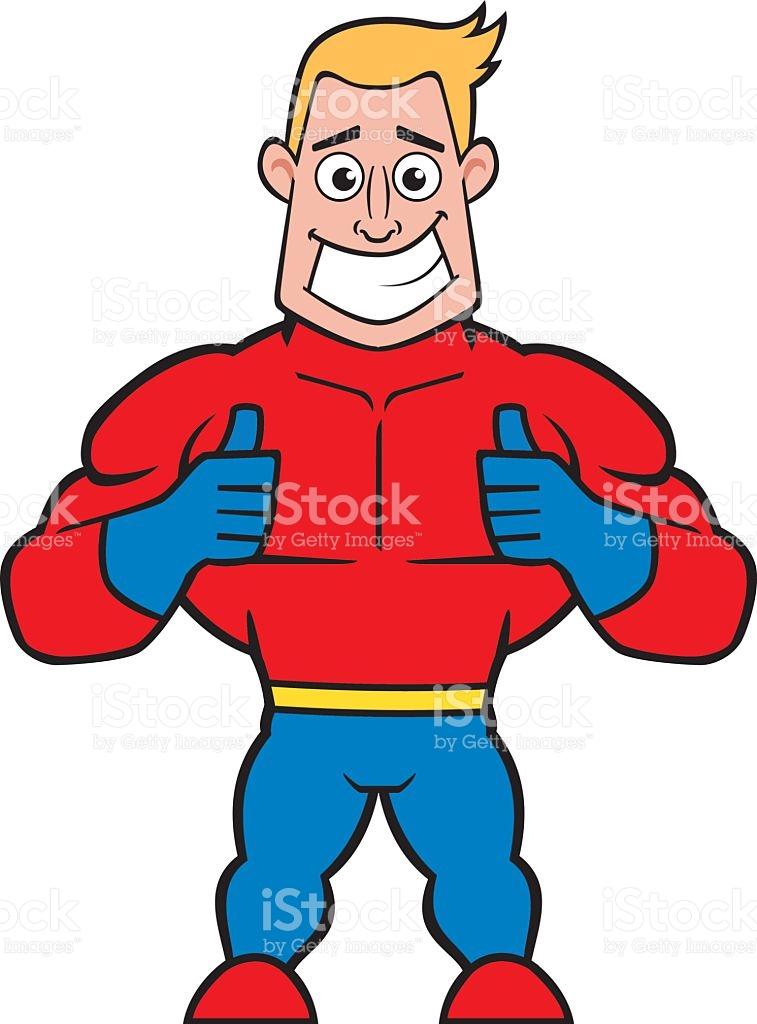 Superhero thumbs up clipart image royalty free library Superhero Thumbs Up stock vector art 521001788 | iStock image royalty free library