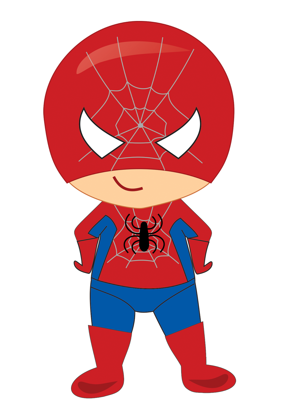 Superhero turkey clipart