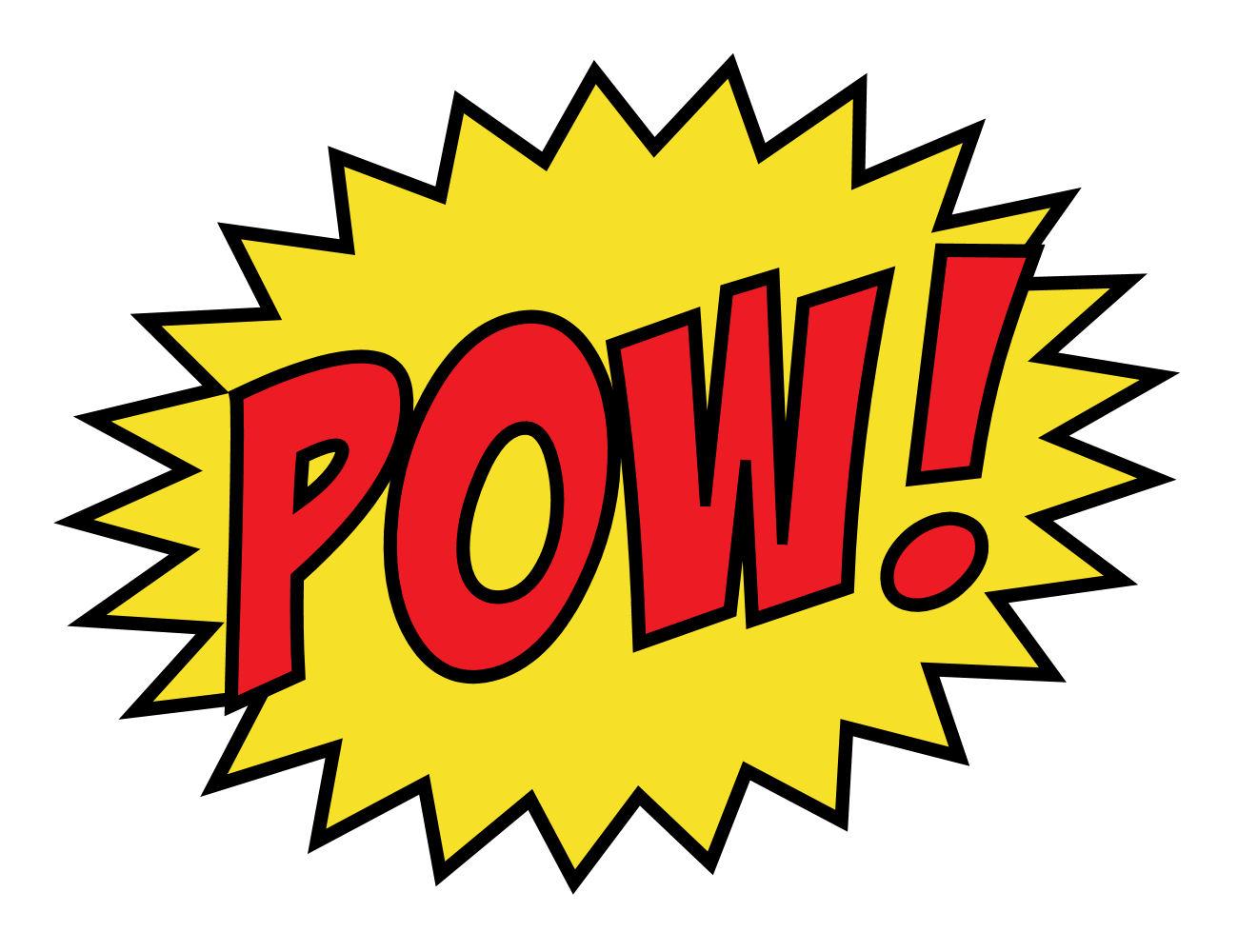 Superhero zap pow clipart library vector library stock Free Batman Pow Font, Download Free Clip Art, Free Clip Art ... vector library stock