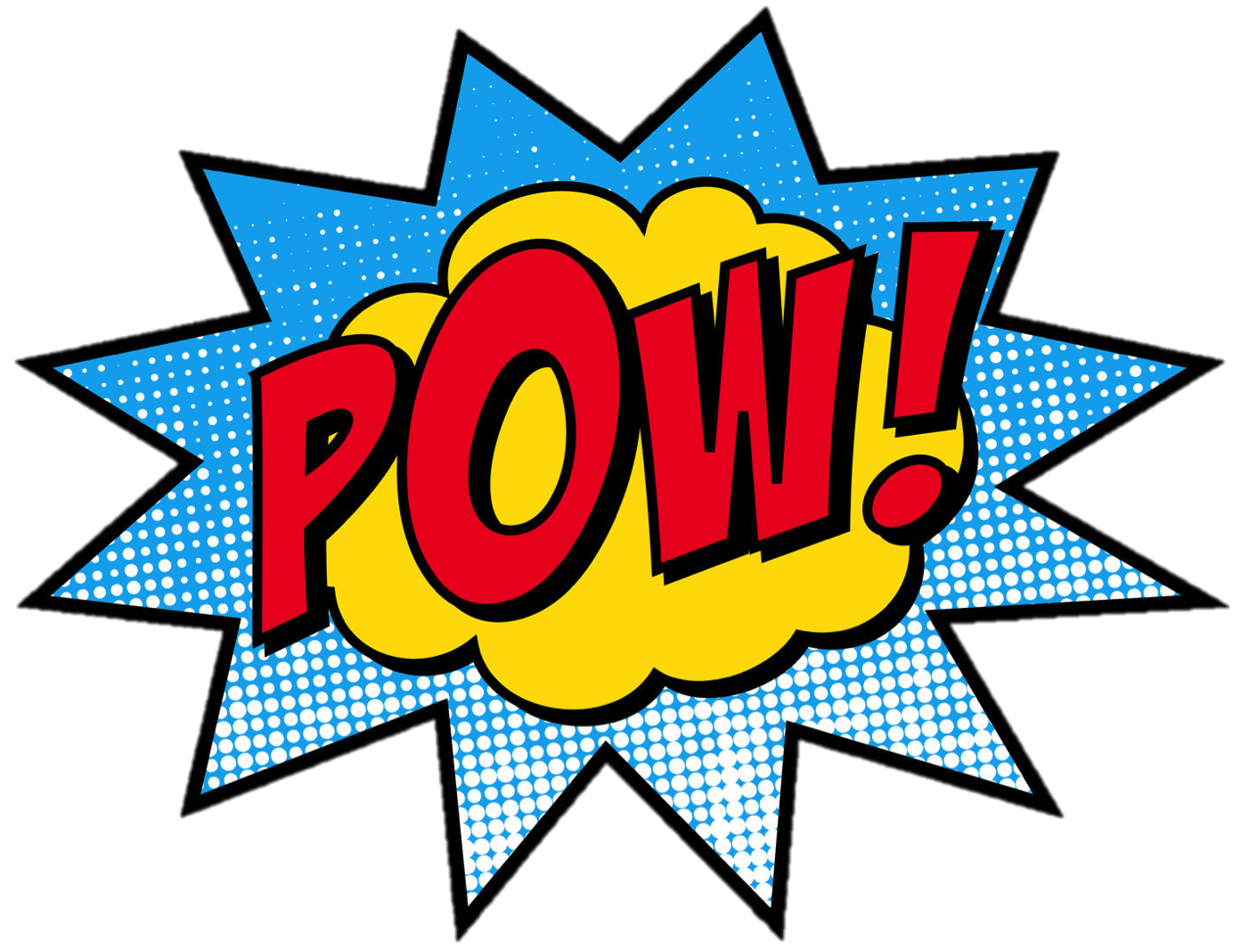 Superhero zap pow clipart library picture library Free Batman Pow Font, Download Free Clip Art, Free Clip Art ... picture library