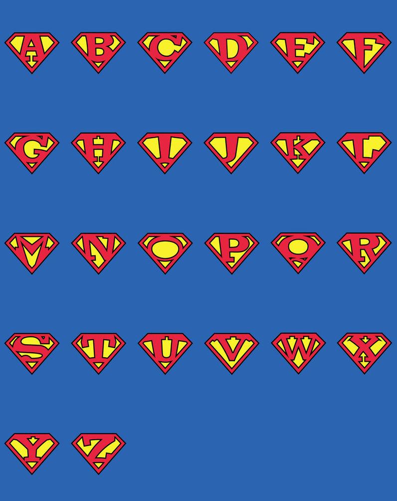 Superman alphabet clipart man picture download Superman Letters | Free Download Clip Art | Free Clip Art | on ... picture download
