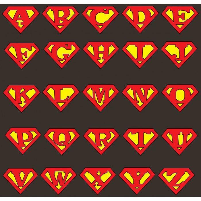 Superman alphabet clipart man clipart free stock Superman Letters | Free Download Clip Art | Free Clip Art | on ... clipart free stock
