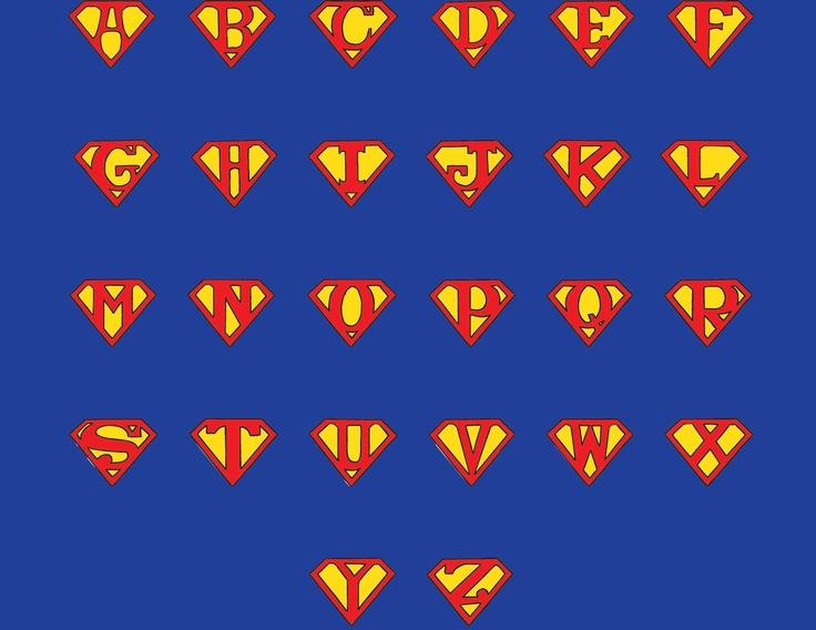 Superman alphabet clipart man jpg transparent Superman Letters | Free Download Clip Art | Free Clip Art | on ... jpg transparent
