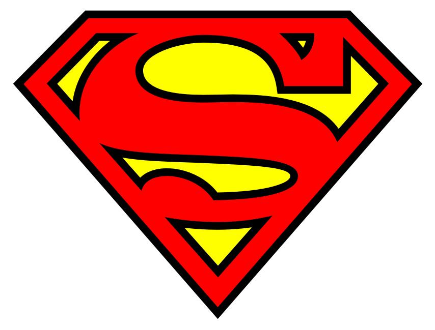 Superman alphabet clipart man banner royalty free download Printable Superman alphabet letters and numbers - make a super ... banner royalty free download