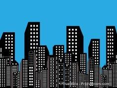 Superman background clipart clip transparent library Superman City Background Clipart - Clip Art Library clip transparent library