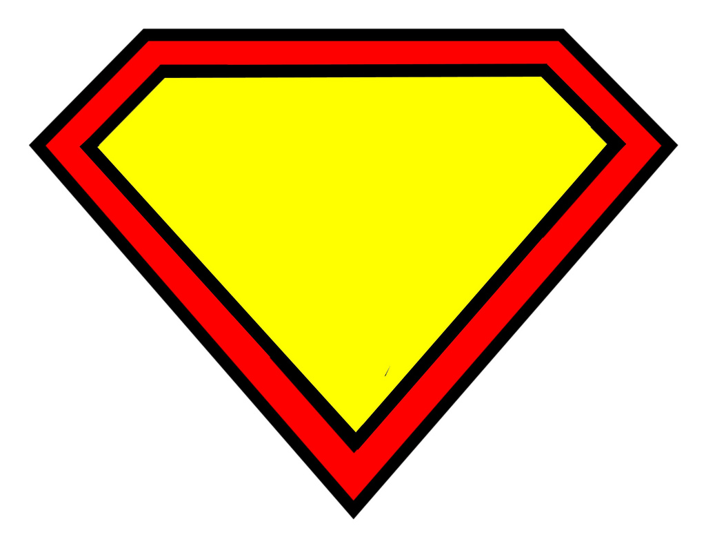 Superman bee clipart clip royalty free library Empty Superman Logo   Free Download Clip Art   Free Clip Art   on ... clip royalty free library
