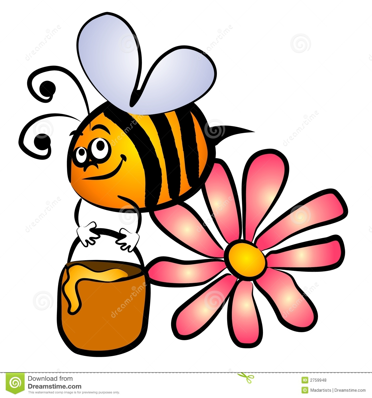 Superman bee clipart picture freeuse library Gallery For > Honey Bee Clipart Love picture freeuse library