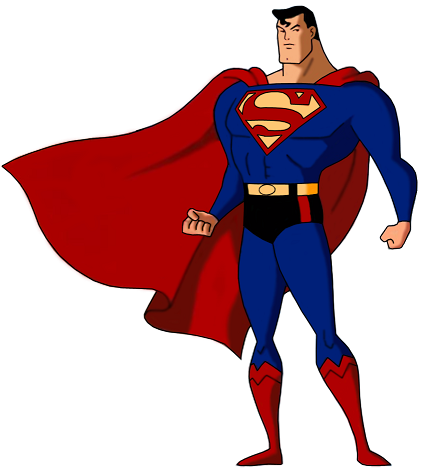 Superman body clipart vector black and white Superman vector black and white