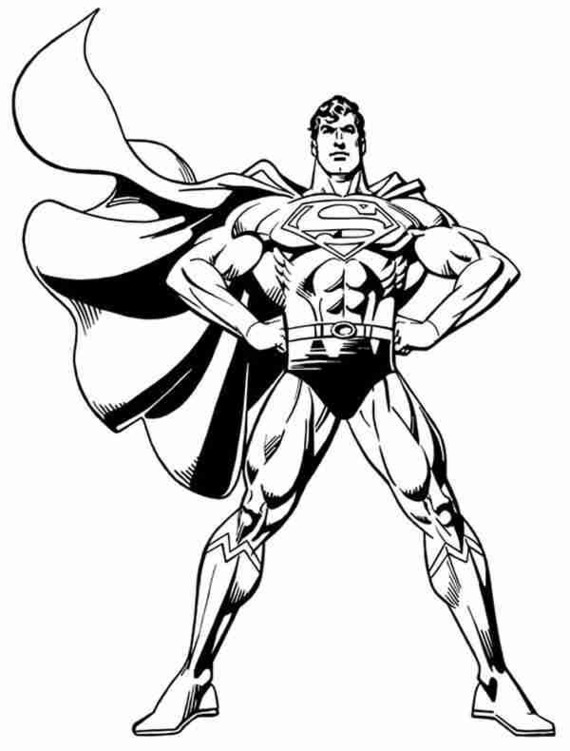 Superman body clipart vector black and white library Superman clip art free clipart images 2 – Gclipart.com vector black and white library