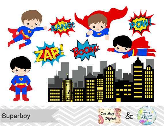 Superman body clipart png library stock Superman boy clipart - ClipartFest png library stock