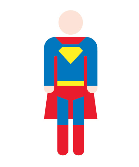 Superman body clipart royalty free download How To Create a Retro Style Superman Book Cover royalty free download
