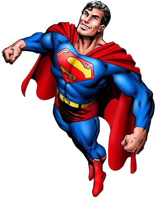 Superman body clipart svg free Hero Envy