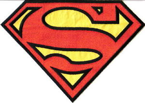 """Superman chest logo clipart clip art library Superman """"S"""" Chest Logo Large Jacket Embroidered Patch ... clip art library"""