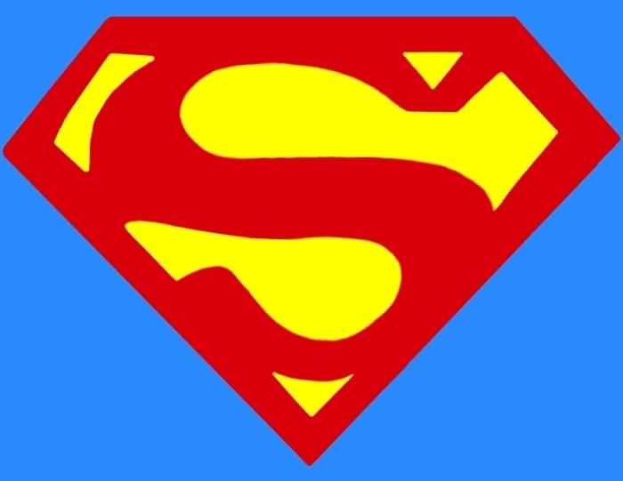 Superman chest logo clipart clipart black and white stock Superman chest logo clipart - ClipartFest clipart black and white stock