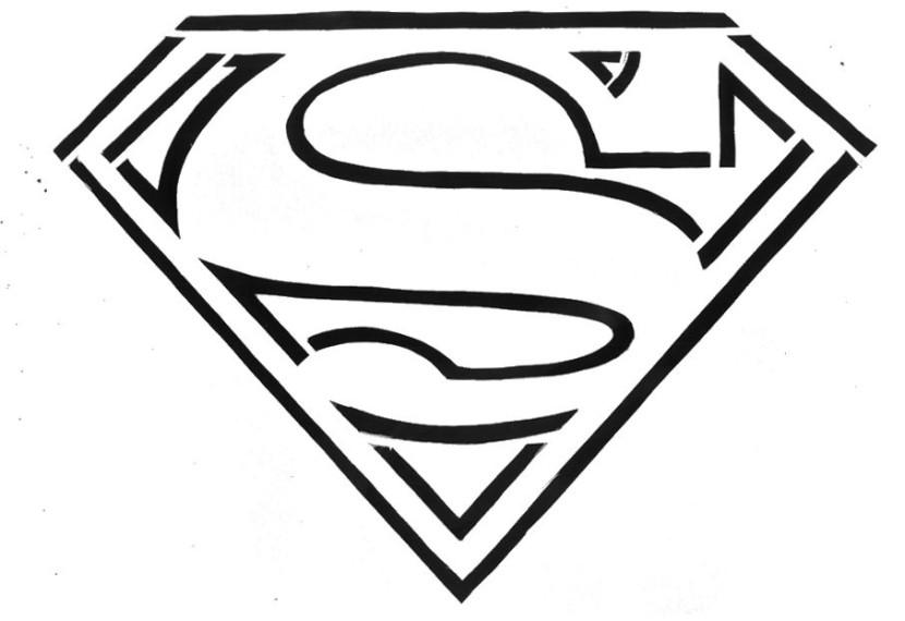 Superman chest logo clipart free Free superman logo clipart - ClipartFest free