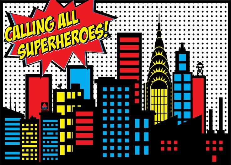 Superman city background clipart svg black and white Superman city background clipart - ClipartFest svg black and white