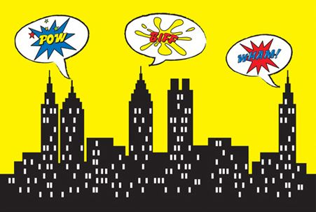 Superman city background clipart image black and white download User Profile image black and white download