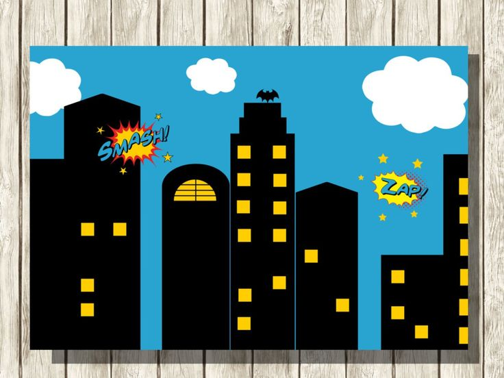 Superman city background clipart png black and white 17 Best ideas about Superhero Background on Pinterest | Superhero ... png black and white
