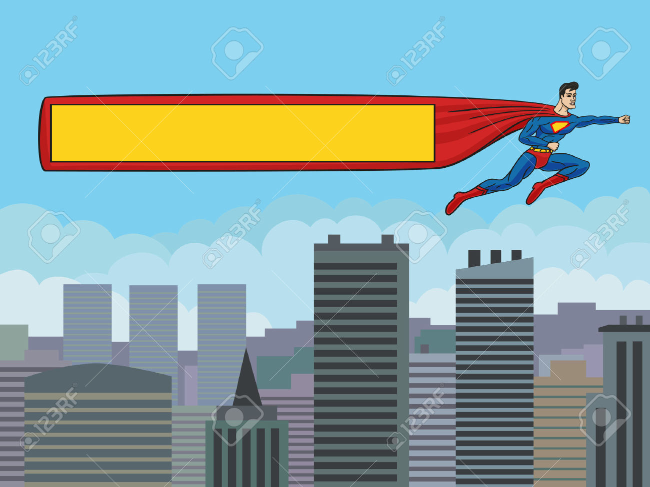 Superman city background clipart freeuse library 1,569 Superman Cartoon Stock Illustrations, Cliparts And Royalty ... freeuse library