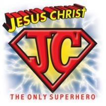 Superman clipart jesus scene jpg royalty free god is my superhero | Super Jesus clip art - vector clip art ... jpg royalty free