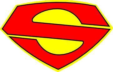 Superman clipart logo clip Superman Vector Logo | Free Download Clip Art | Free Clip Art | on ... clip