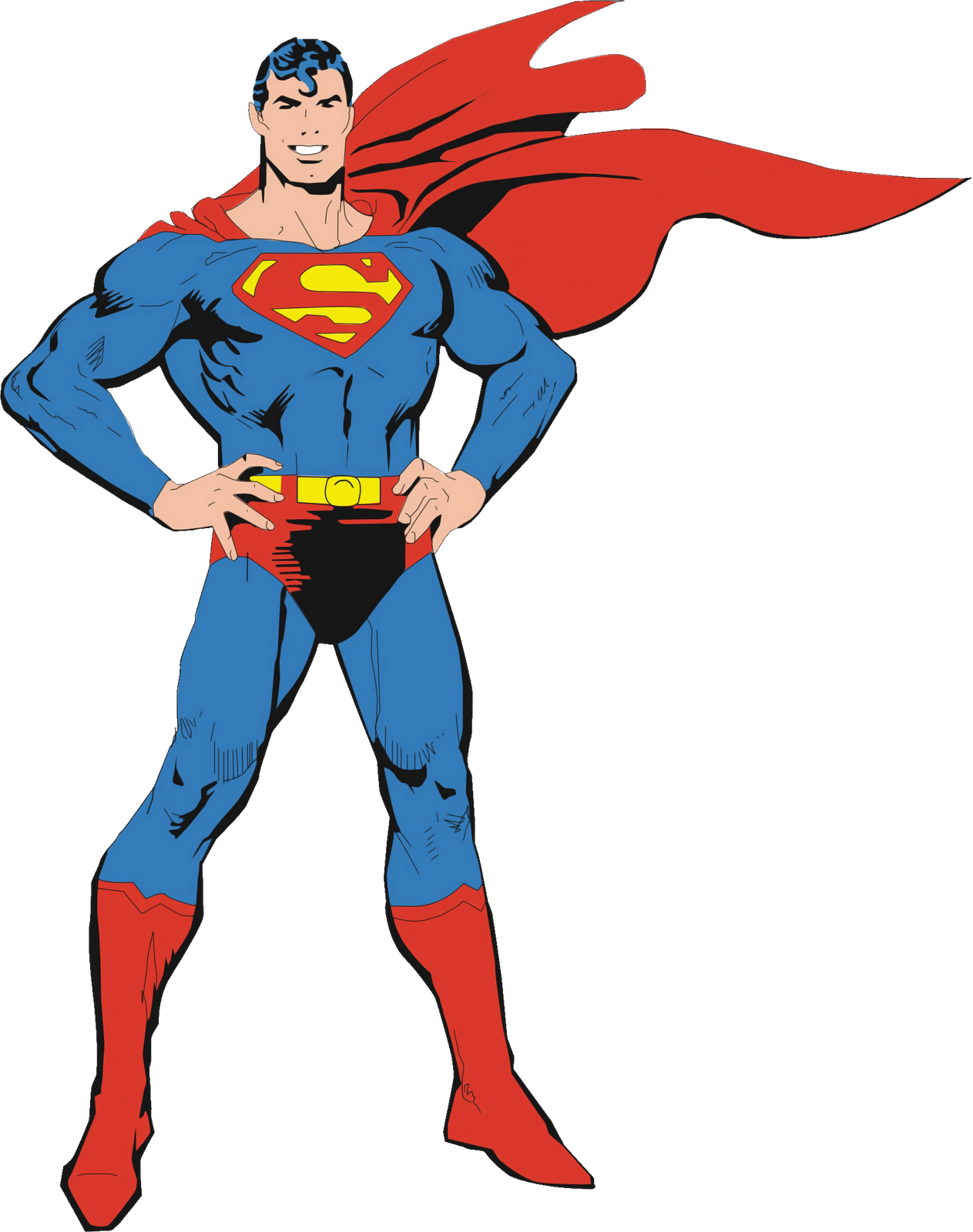 Free high resolution comic book clipart banner freeuse stock Superman PNG Image - PurePNG | Free transparent CC0 PNG Image Library banner freeuse stock