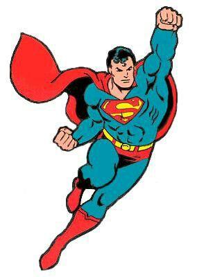 Superman comics clipart jpg stock caped crusader | BLUE | Superman characters, Superman comic ... jpg stock