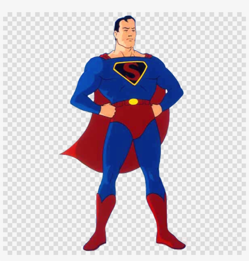 Superman costume clipart svg transparent download Golden Age Superman Costume Clipart Dave Fleischer - Pedo ... svg transparent download