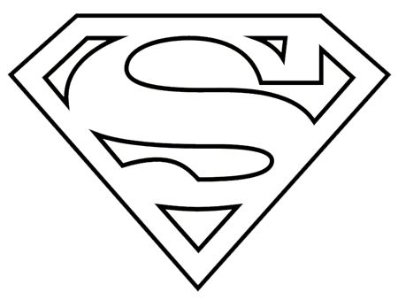 Superman emblem clipart vector library download Use this logo! Superman Logo Black And White Clipart | James ... vector library download