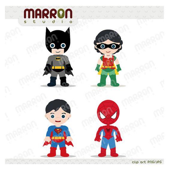 Superman kid clipart girl jpg freeuse stock Superhero Inspired set Batman, Robin Girl, Superman and Spiderman ... jpg freeuse stock