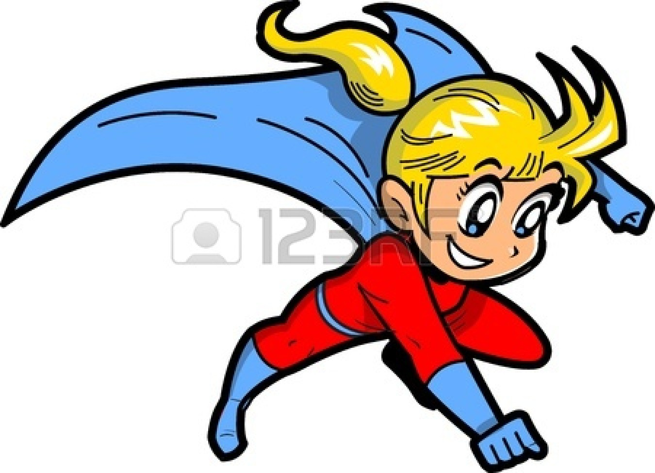 Superman kid clipart girl clip art library stock Superman kid clipart girl - ClipartFest clip art library stock