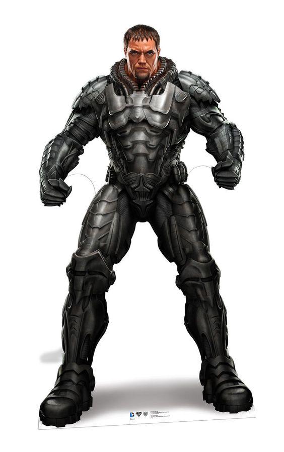 Superman laser vision man of steel clipart clipart transparent General Zod (Michael Shannon) Man Of Steel Lifesize Cardboard ... clipart transparent