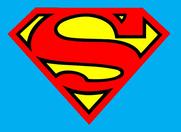 Superman logo clipart seperated black and white 17 Best images about Symbols/ Logos on Pinterest | Volkswagen ... black and white