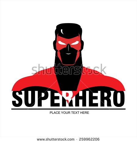 Superman logo clipart seperated jpg library download Superhero Silhouette Stock Images, Royalty-Free Images & Vectors ... jpg library download