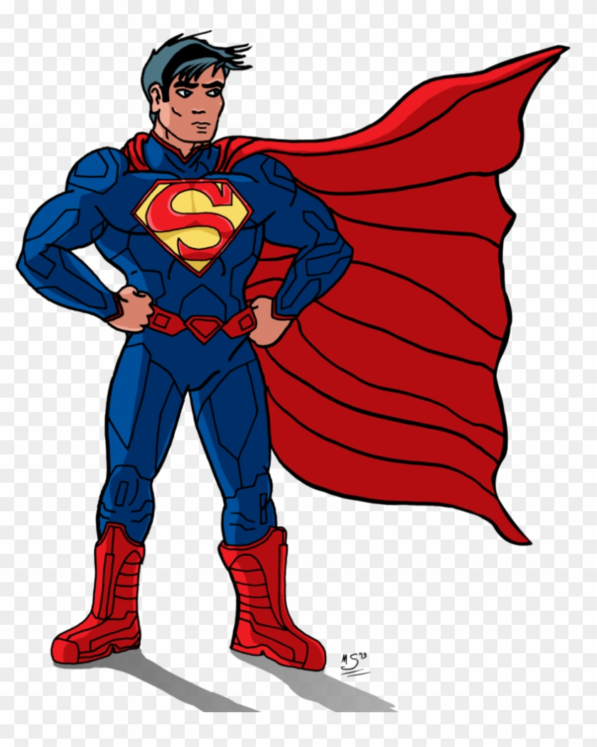 Superman new 52 clipart image black and white download Superman Cliparts - Cartoon Superman New 52, HD Png Download ... image black and white download