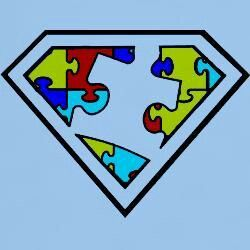 Superman puzzle piece clipart vector royalty free stock Pin by Robyn Holland on Tipton | Autism awareness tattoo ... vector royalty free stock