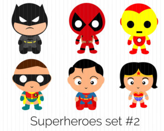 Superman without head clipart clip art free library Superman clip art – Etsy clip art free library