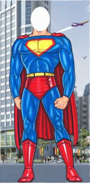 Superman without head clipart jpg free library Superman without head clipart - ClipartFest jpg free library