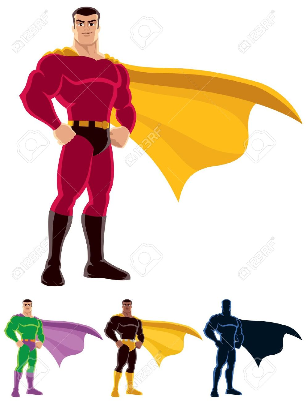 Superman without head clipart png black and white library Superhero cape no head clipart - ClipartFest png black and white library