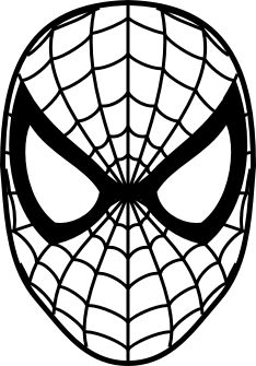 Superman without head clipart clip art stock Spiderman Face Logo Spiderman Mask Clipart 23424wall.jpg | Cake ... clip art stock