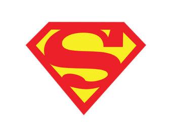 Superman without head clipart transparent download Superman | Etsy transparent download